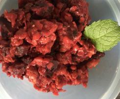 Rote-Bete-Salat mit roten Linsen