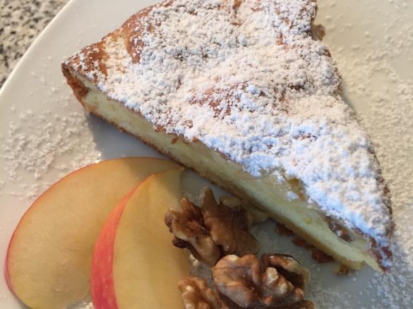 Thermidoll S Gedeckter Apfel Walnuss Kuchen Von Thermidoll Ein
