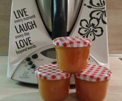 Blutorangen-Aprikosen-Marmelade