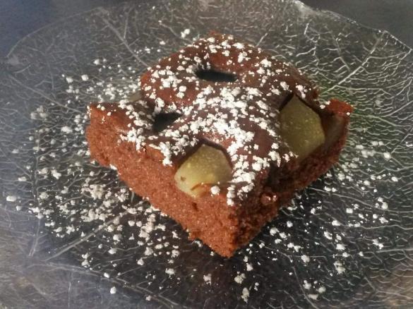 Schneller Schoko Blechkuchen Mit Obst Von Sandra97 Ein Thermomix