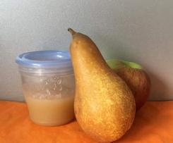 Babybrei Birnen-Apfelmus