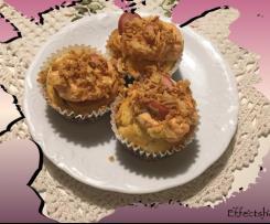 Hotdog-Cupcakes