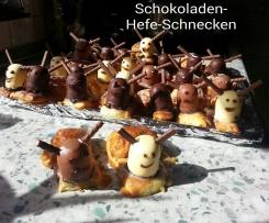 Schoko-Hefe-Schnecken