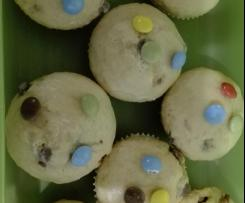 Smarties-Muffins