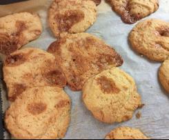 Amerikanische Karamell Cookies - Muh-Muhs