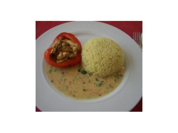 Gefüllte Paprika Vegetarisch Von Elke F Ein Thermomix Rezept Aus