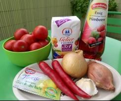 Tomaten-Chilli-Konfitüre