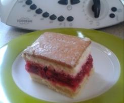 Johannisbeer-Keks-Kuchen
