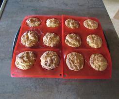 Muffins mit Frischkäse