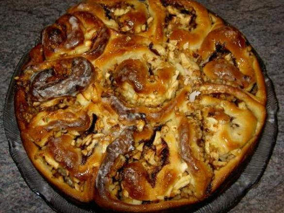 Apfel Zimt Nuss Schneckenkuchen Von Tanja2004 Ein Thermomix