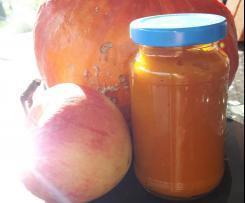 Kürbis-Apfel-Chutney
