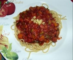 Arabiata Soße mit Gemüse