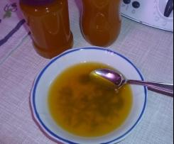Holunderblüten-Orangensaft-Gelee