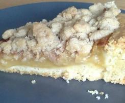 Apfelmus - Streuselkuchen