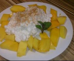 Kokosreis mit Mango