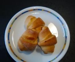 Marzipan- Hörnchen