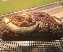 Saftiges Bananenbrot ohne Zucker