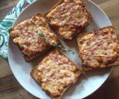 Pizza Toast Ruckzuck und lecker