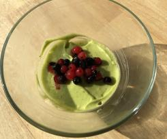 Avocado-Limetten-Pudding
