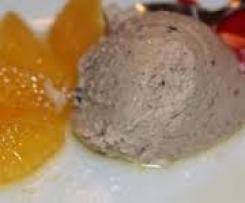 Maronenmousse mit Orangenfilets
