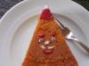 Zimt-Apfel-Kuchen mit Nikolaus Deko