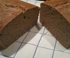 Sauerteig Brot ohne Hefe