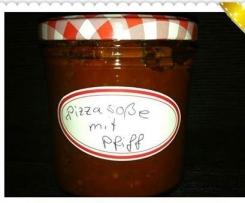 Pizzasauce mit Pfiff - nur für Erwachsene -