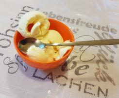 Zitronen-Buttermilch-Eis für die Eismaschine