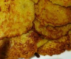 Kartoffelpuffer/Reibekuchen á la Bea (mit Gelinggarantie :-))