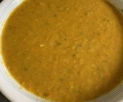Indische Currysuppe
