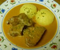 Rahmkalbfleisch, italienisches