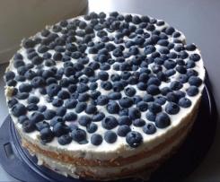 Blaubeer-Joghurt-Torte