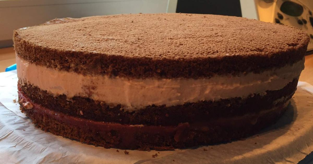 Erdbeer Schokoladen Torte Von Jumau Ein Thermomix Rezept Aus Der