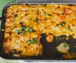 Mairübchen-Karotten-Lasagne ( Gericht aus der Apothekenumschau Mai 2014)