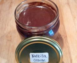 Nutzilla-Orange, Schoko Aufstrich (vegan)