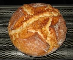 Brot mit Dinkelmehl und Haferflocken