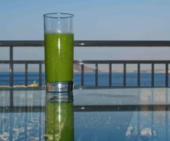 Smoothie-der Gesunde Grüne