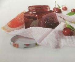 Süßkirsch-Grapefruit-Marmelade