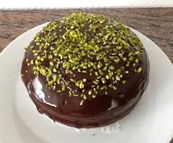Schokoladen-Espresso-Kuchen (eigentlich eine Torte)