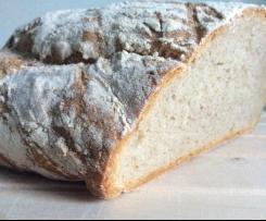 Weizenmischbrot (gebacken auf dem heißen Stein)