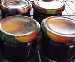 Heidelbeer-Vanille-Marmelade