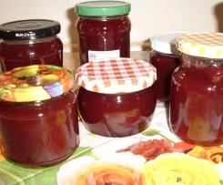 Pflaume-Rotwein-Zimt Marmelade