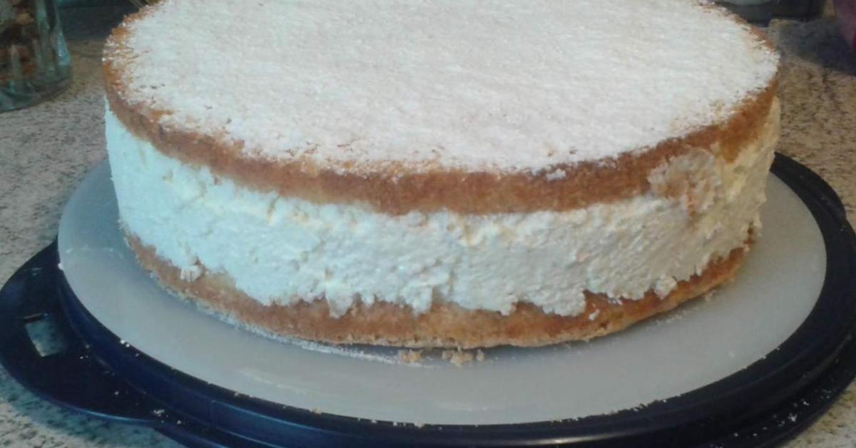Zitronen Quark Sahne Torte Von Otilia Mioara Ein Thermomix Rezept