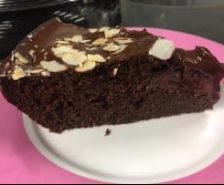 Weltbester <3  schokoladigster Blechkuchen / Kuchen / Brownie  vegan / ohne Eier