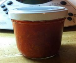 Erbeeren-Rhabarber-Marmelade