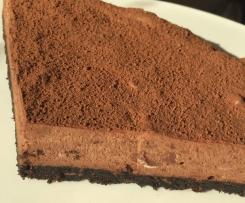 Traumhafter Mousse au Chocolat Kuchen