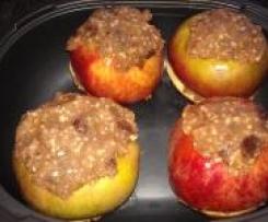 Bratapfel mit Mandel-Marzipanfüllung