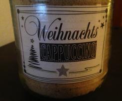 Weihnachts-Cappuccino Pulver