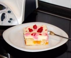 Pfirsich- Vanille- Schnitten