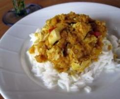 Hähnchencurry Madras